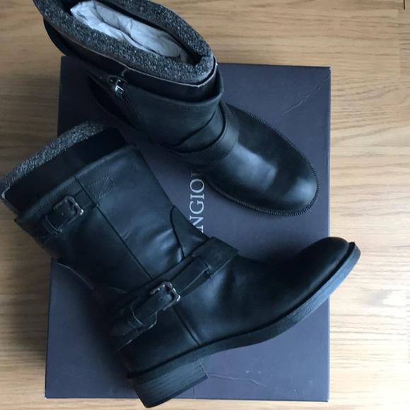 Enzo Angiolini Leather Black Boots d99ef3f9e